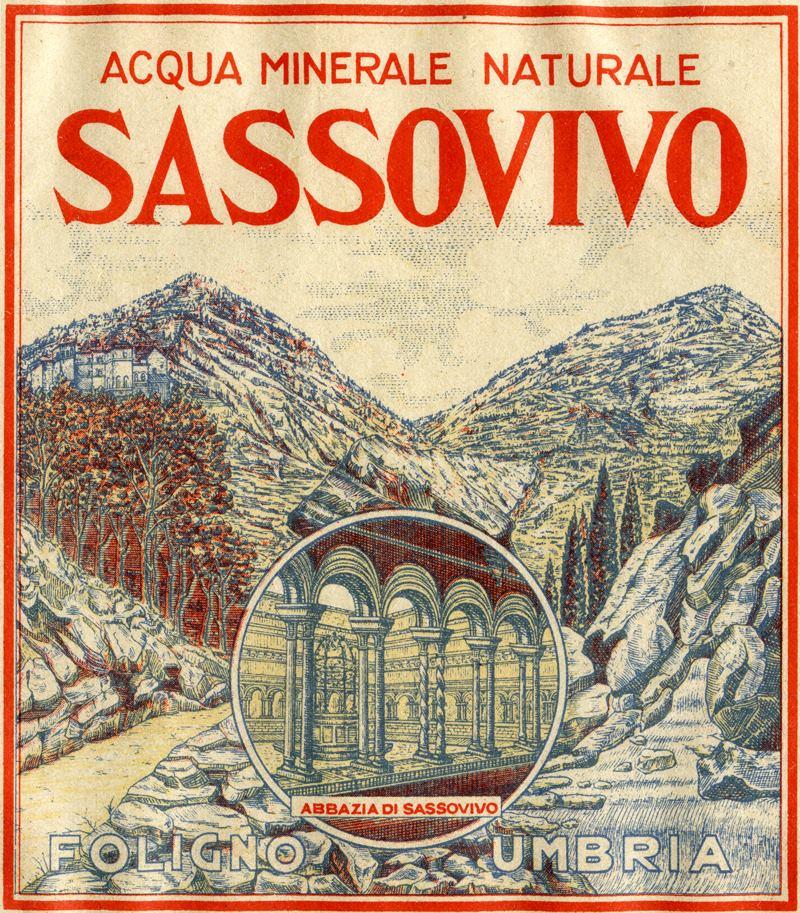 Etichetta storica Sassovivo