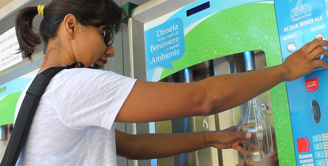 Distributore automatico Acqua