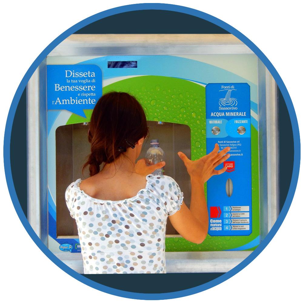 Distributori automatici acqua