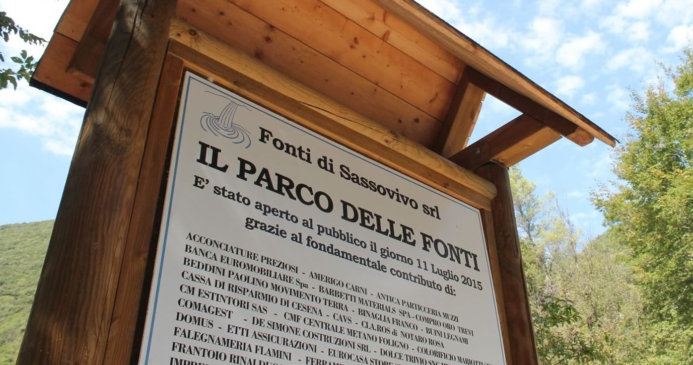 il parco delle fonti sassovivo